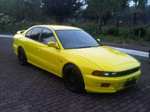 Modifikasi Mitsubishi Galant Super Keren Youtube