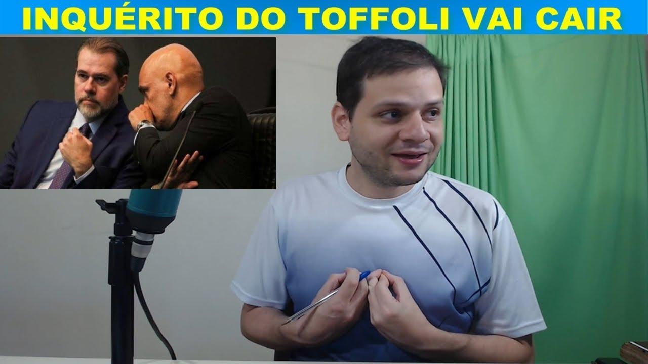 Inquérito do Dias Toffoli vai cair / Pressão no STF