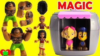 Paw Patrol Skye's Magical Pup House Helps Find Moana and Disney Friends thumbnail