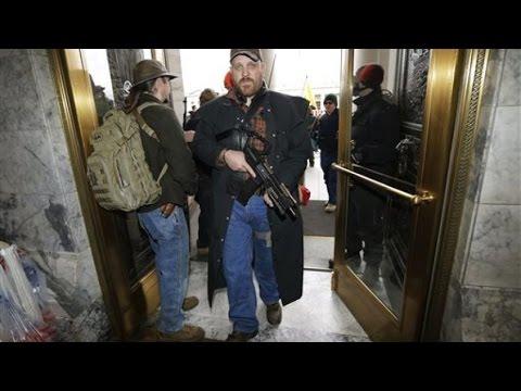 January 15th, 2015 - Gun Lobby Storms the Washington State Capitol