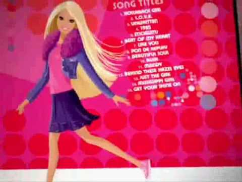 2006 Barbie Hit Mix 2 CD Commercial