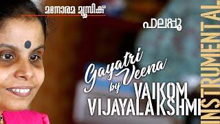 Pala Poo film song on Gayathri Veena by Vaikom Vijayalakshmi