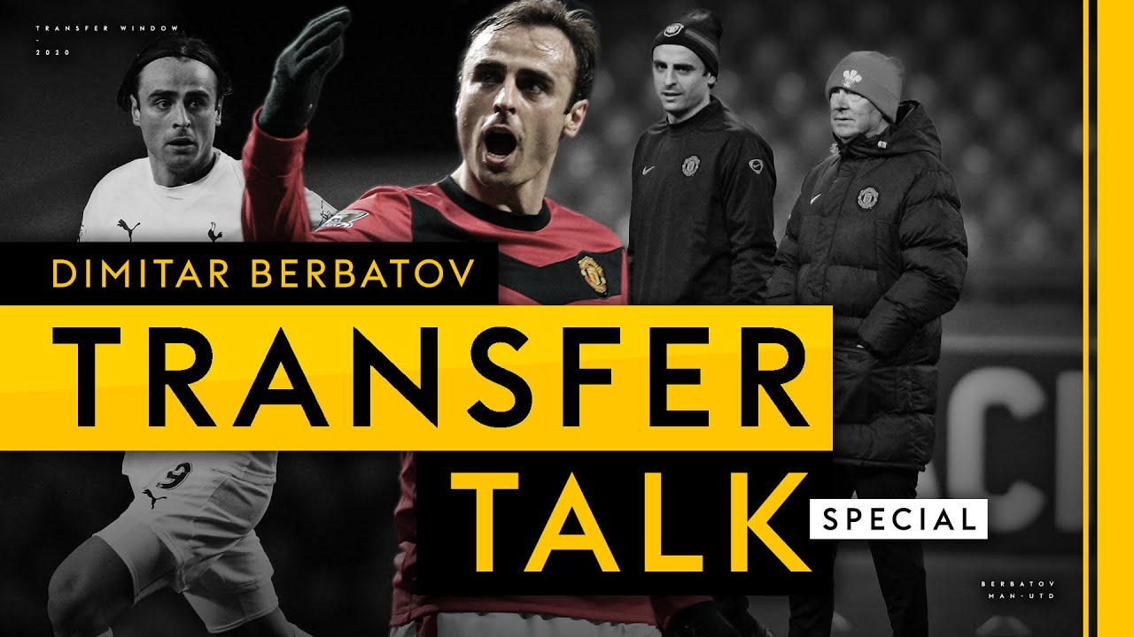 Download Dimitar Berbatov on truth behind Tottenham exit, Deadline Day move to Man Utd & CL heartache