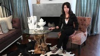 How To Decorate Your Room Around A Driftwood Coffee Table : Easy Designing & Decorating Tips
