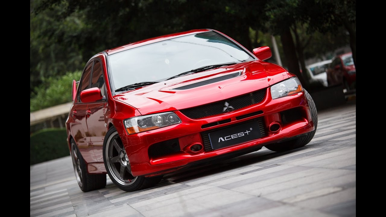jdm lancer evolution ixcustom red pearl paint