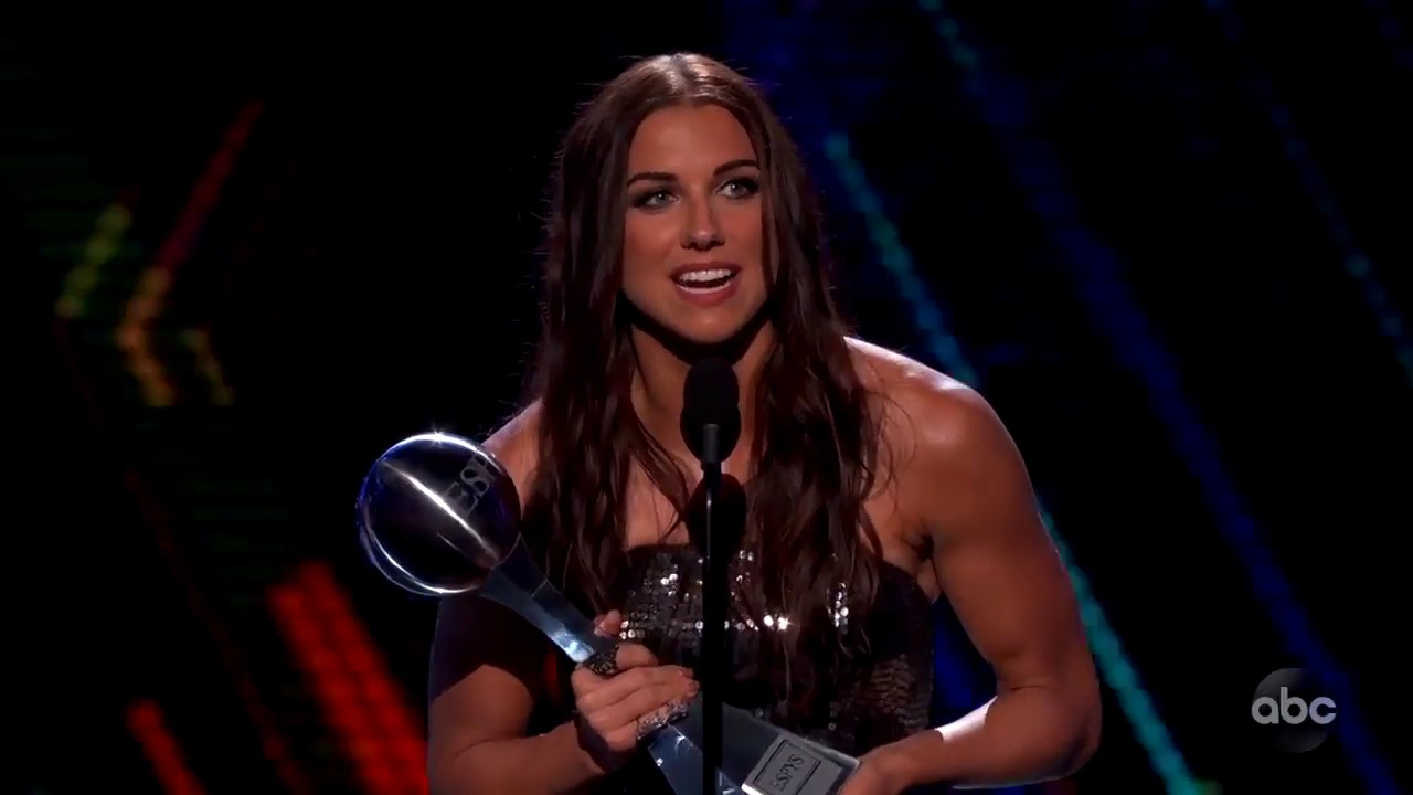 USWNT, Morgan take home top honors at ESPYS