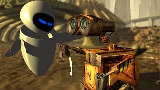 Wall-E & EVA, a short animated film tribute