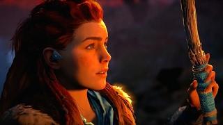 2 Minutes of Horizon: Zero Dawn's Beautiful Combat Gameplay