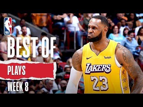 NBA's Best Plays From Week 8   2019-20 NBA Season