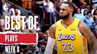 NBA's Best Plays From Week 8 | 2019-20 NBA Season