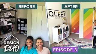 'Design Duo' Episode 3: 'Queer Gear' Founders Redo Their Home Office