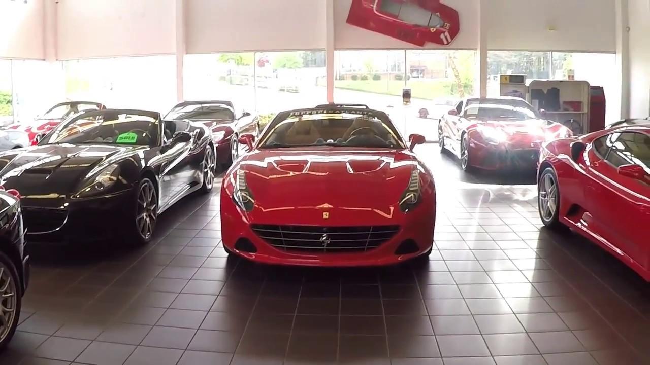 Ferrari Dealership In Atlanta Youtube