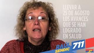 La compañera Claudia Bondad de La 711, es secretaria de la Com. Apoyo a Policlínicas de ASSE