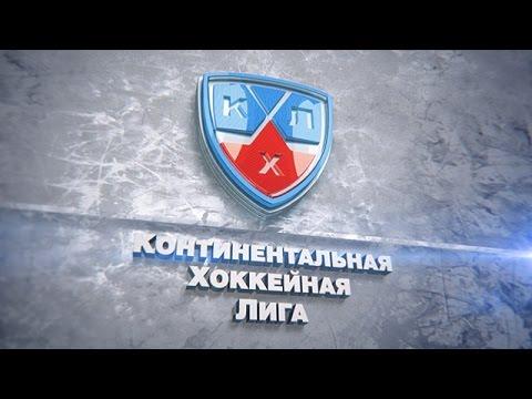 Первый гол Патрика Лушняка в КХЛ / Patrik Lusnak scores his first KHL goal
