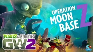 Plants vs. Zombies Garden Warfare 2: Herbal Assault Moon Base Z  (PVZGW2 Beta Xbox One)
