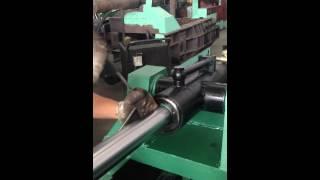 Ремонт гидравлического цилиндра пресса Y81-1350, часть 1(Описывается сборка, разборка и замена сальников гидравлического цилиндра пресса для металлолома ООО