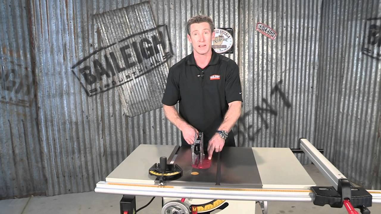 baileigh industrial ts 1040c contractors table saw for woodworking rh youtube com