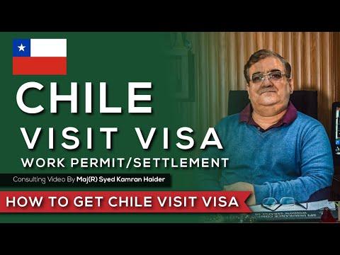 Chile Visit Visa - Work Permit / Settlement Visa