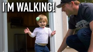 LOOK WHO'S WALKING!!!