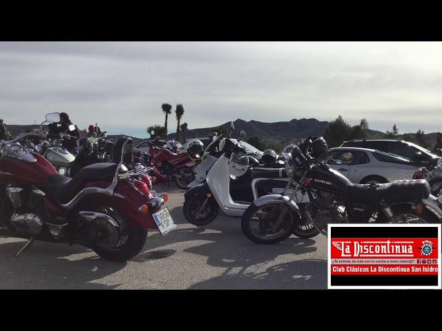 II Concetracion motos y coches en San Isidro 14/01/18