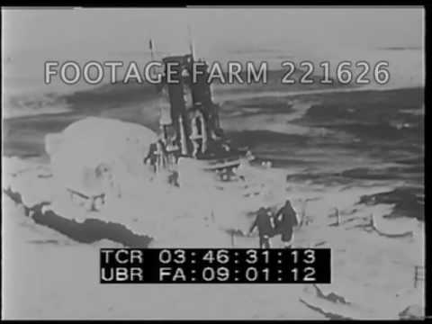 Vessels Blast Way Through Arctic - 221626-40 | Footage Farm