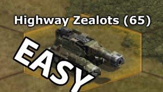 Repeat youtube video WAR COMMANDER - HAMMER BASE 65 - Highway Zealots 65 - EASY WAY - BEST TACTICS