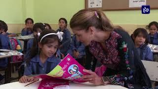 بناء مدرسة جديدة تضم 21 غرفة صفية في قضاء الحلابات بمحافظة الزرقاء - (15-9-2017)