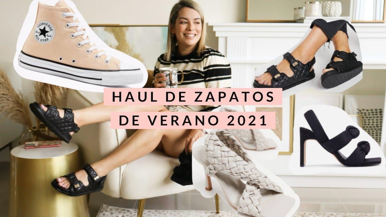HAUL DE ZAPATOS DE VERANO 2021