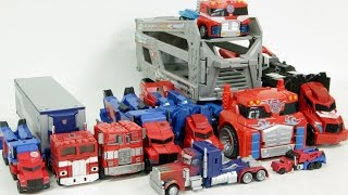 Transformers Autobot Optimus Prime 10 Cars Robot Car Toys 트랜스포머 오토봇 옵티머스 프라임  10대 장난감 자동차 로봇 변신 동영상
