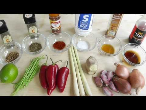 How to make Red Thai Curry Paste recipe