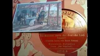 Humoresk Melodios: Ein Bummel durch das deutsche Lied - Aufnahme 1934