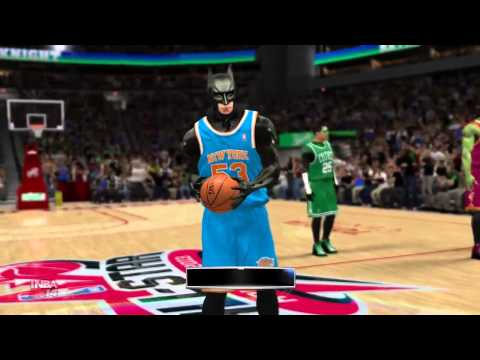 Superhero Dunk Contest NBA 2k14