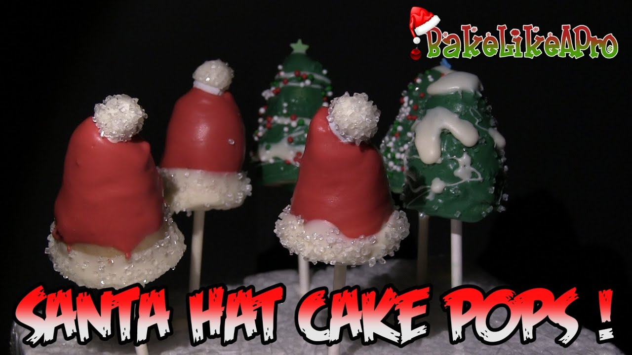 How To Make A Santa Hat Cake