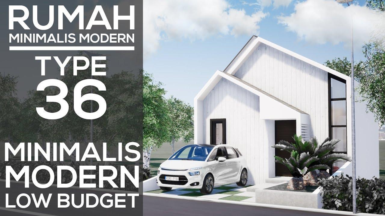 Desain Rumah Minimalis Type 36 Desain Modern Kontemporer Youtube