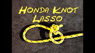 Honda Knot - Lasso Knot - Bowstring Knot - How to Tie a Lasso Knot (Cowboy)