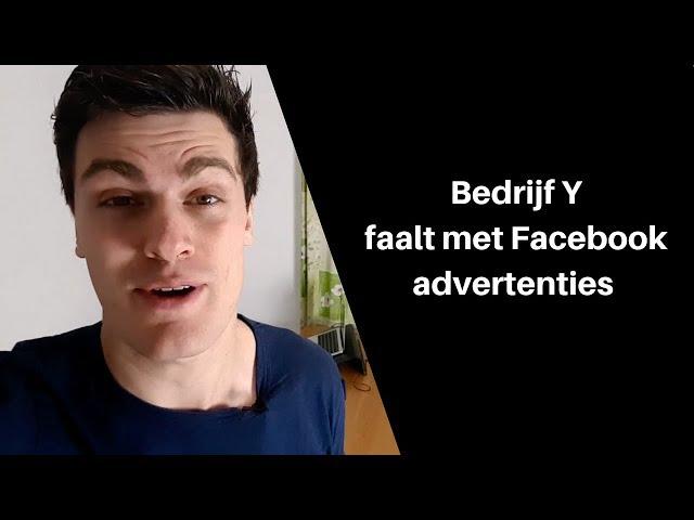 Waarom sommige ondernemingen met hun advertenties op Facebook falen...