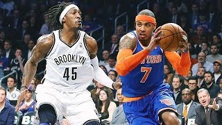 New York Knicks vs Brooklyn Nets - Full Game Highlights | Dec 14, 2017 | Ximo Pierto