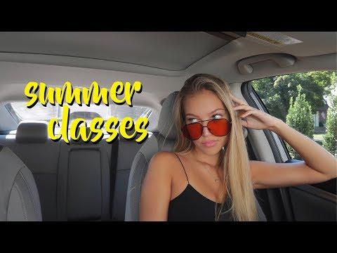 college week in my life: first week of summer classes | maddie cidlik