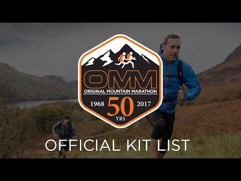 Official OMM Kit List