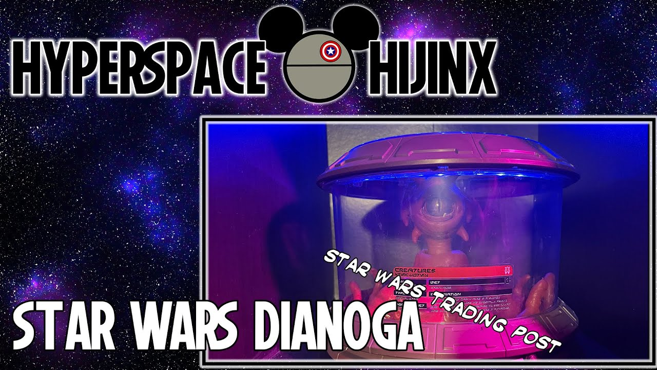 Star Wars Galaxy's Edge Dianoga Unboxing | Hyperspace Hijinx