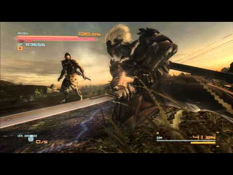 Metal Gear Rising: Revengeance - Sam Boss Battle