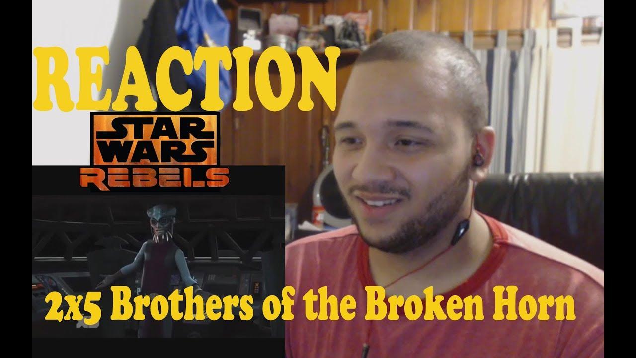 Download Star Wars Rebels Reaction Series Season 2 Episode 5 - Brothers of the Broken Horn