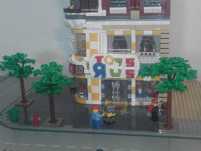 Bau meiner LEGO Stadt Teil 16