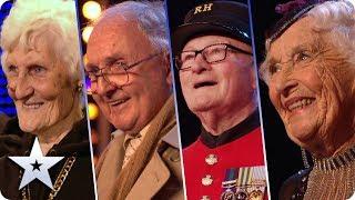 BGT's greatest AGE-DEFYING acts! | Britain's Got Talent