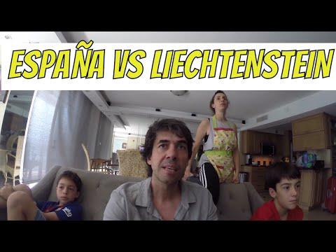 REACCIÓN GOLES ESPAÑA vs LIECHTENSTEIN 8-0