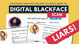 EXPOSED: How This White-Owned Brand is Preying on Black Folks | Made With Melanin Co Scam