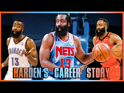 This is James Harden's Career Story (So Far): Career Recap