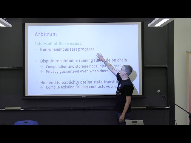 Arbitrum: Overcoming the Limitations of State Channels by Ed Felton of Offchain Labs