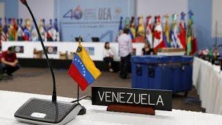¡Última Hora! Choque entre Embajador de Colombia y Venezuela en la OEA ¡ARREMETIDA!