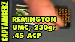 .45 ACP Remington UMC (230gr, FMJ)